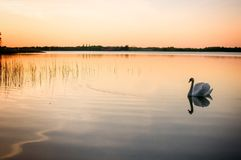 Mazury - το έδαφος των πολωνικών λιμνών Στοκ φωτογραφία με δικαίωμα ελεύθερης χρήσης
