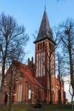 Mazury Church Ostroda in Poland Royalty Free Stock Photos
