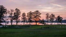 Mazury jeziora okręg Obraz Royalty Free