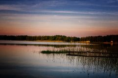 Mazury - la tierra de los lagos polacos Foto de archivo