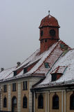 Mazury old town Ostroda in Poland Stock Photo