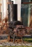 Mazury Ostroda grill w Polska Fotografia Stock