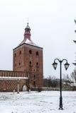 Mazury Ostroda in Poland. Polish Mazury in the winter and fall Stock Photos