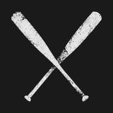 Mazza da baseball Immagini Stock