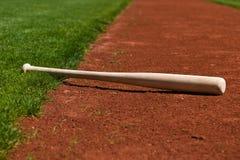 Mazza da baseball Immagine Stock