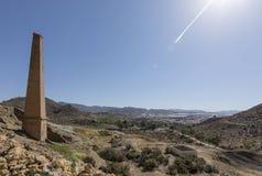 Mazzaron-Bergwerk Spanien Stockbild