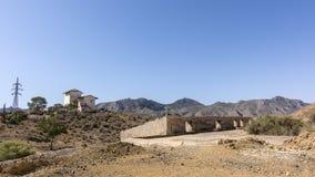 Mazzaron-Bergwerk Spanien Stockfoto