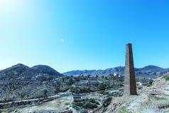 Mazzaron-Bergwerk Spanien Lizenzfreies Stockfoto
