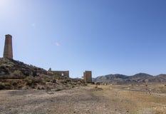 Mazzaron-Bergwerk Spanien Lizenzfreies Stockbild