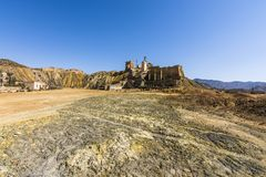 Mazzaron-Bergwerk Spanien Stockbilder