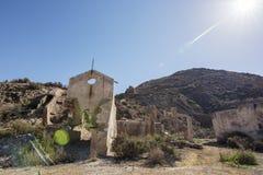 Mazzaron-Bergwerk Spanien Lizenzfreie Stockfotos