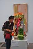 Mazzi alla mostra di arte immagine stock libera da diritti