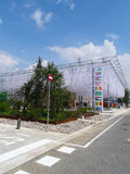 Mazzi aridi di zone - Expo 2015 Fotografie Stock Libere da Diritti