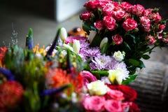 Mazzi dei fiori freschi Fotografie Stock
