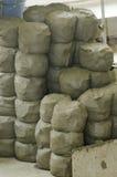 Mazzi dell'argilla delle terraglie fotografie stock