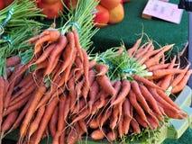 Mazzi di carote immagini stock libere da diritti