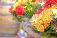 Mazzi floreali Fotografia Stock Libera da Diritti