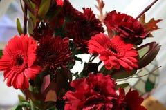 Mazzo con i fiori Immagini Stock