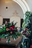 Mazzo d'avanguardia di nozze nello stile di boho Fotografia Stock