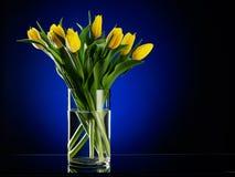Mazzo dai fiori gialli fotografie stock libere da diritti