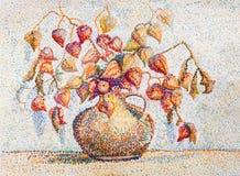 Mazzo decorativo dei fiori luminosi Fotografie Stock