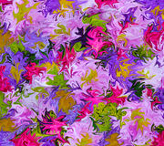 Mazzo dei colori Fotografia Stock