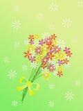 Mazzo dei fiori royalty illustrazione gratis