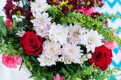 Mazzo dei fiori Fotografie Stock
