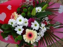 Mazzo dei fiori Assorted Fotografia Stock