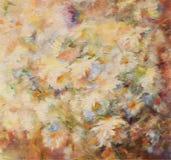 Mazzo dei fiori bianchi e gialli illustrazione di stock