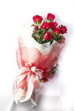 Mazzo dei fiori delle rose dell'Olanda Fotografie Stock