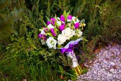 Mazzo dei fiori di nozze Immagine Stock
