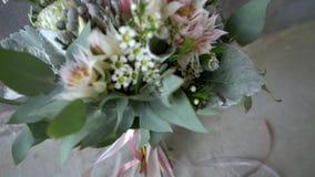 Mazzo dei fiori video d archivio