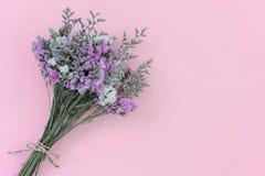 Mazzo dei fiori secchi Fotografia Stock