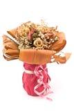 Mazzo dei fiori secchi delle rose immagini stock