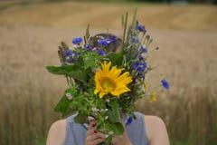 Mazzo dei fiori selvaggi Immagine Stock