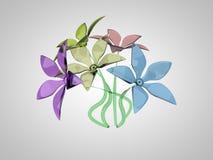 Mazzo dei fiori variopinti Fotografia Stock Libera da Diritti