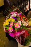 Mazzo dei fiori variopinti differenti Immagini Stock Libere da Diritti