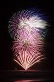 Mazzo dei fuochi d'artificio Fotografie Stock
