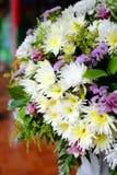 Mazzo dei mazzi del fiore di fiori Immagini Stock