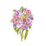 Mazzo dei wildflowers illustrazione di stock