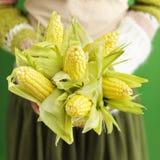 Mazzo del cereale Fotografia Stock