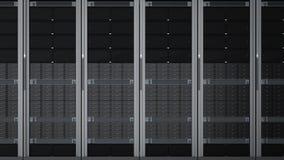 Mazzo del computer server Fotografia Stock Libera da Diritti