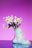 Mazzo del fiore bianco Immagine Stock