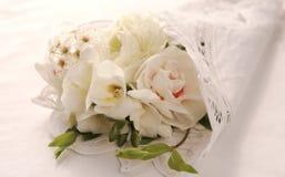 Mazzo del fiore bianco Fotografia Stock Libera da Diritti