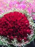 Mazzo del fiore di Rosa Immagine Stock
