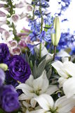Mazzo del fiore fresco Fotografie Stock Libere da Diritti