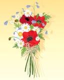 Mazzo del Wildflower Illustrazione Vettoriale