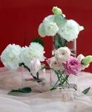 Mazzo delizioso dei colori bianchi e rosa immagine stock libera da diritti