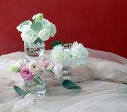 Mazzo delizioso dei colori bianchi e rosa fotografia stock libera da diritti